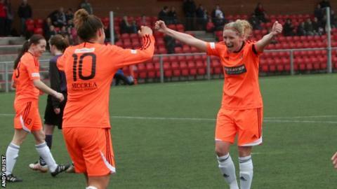 Glasgow City were 7-0 winners against Buchan