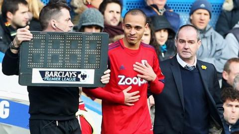 Peter Odemwingie (centre)