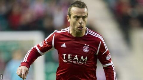 Aberdeen midfielder Gavin Rae