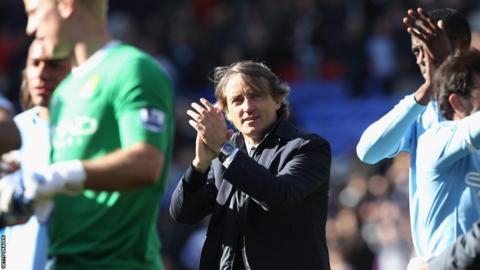 Roberto Mancini, Manchester City
