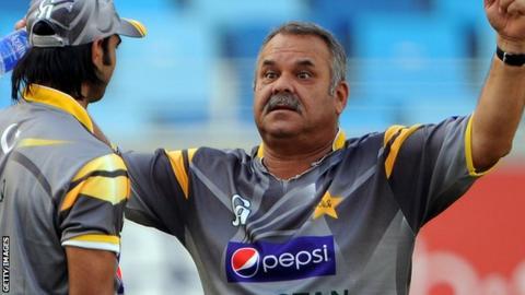 Pakistan head coach Dav Whatmore