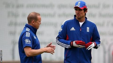 Andy Flower & Alastair Cook