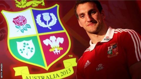 British and Irish Lions captain Sam Warburton