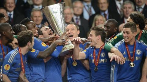 Chelsea fc europa league results