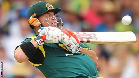 Australia batsman David Warner