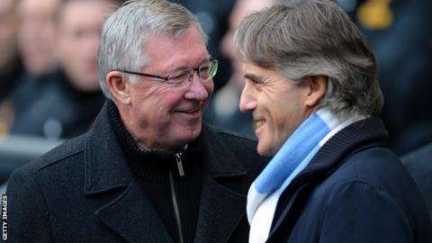 Sir Alex Ferguson criticises 'amazing' Roberto Mancini sacking