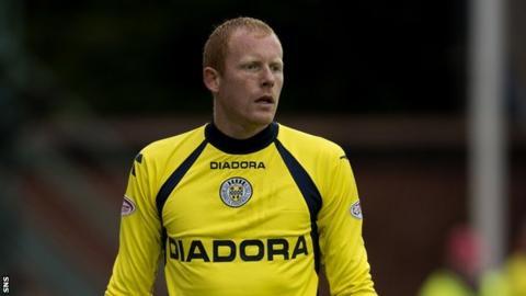 Goalkeeper Craig Samson