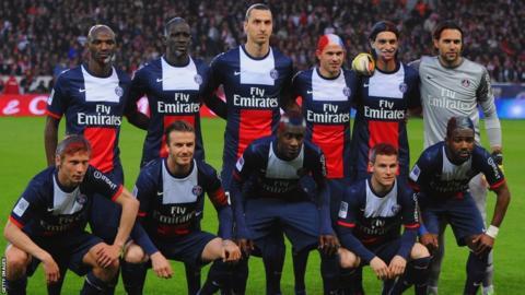 David Beckham; Paris St Germain