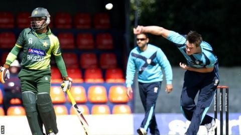 Scotland lost to Pakistan on Friday