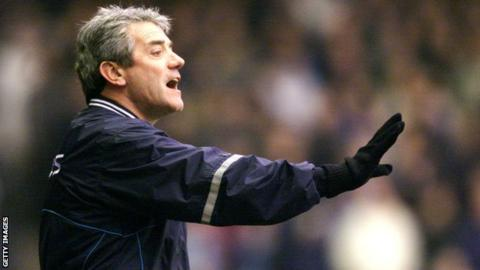 Former Manchester City manager Kevin Keegan