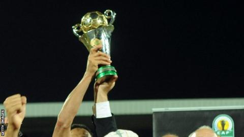 The African Confederation Cup trophy