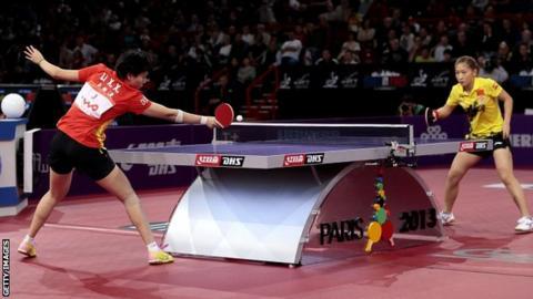 Li Xiaoxia and Liu Shiwen
