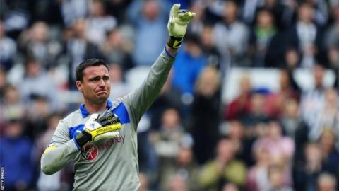 Newcastle's Steve Harper