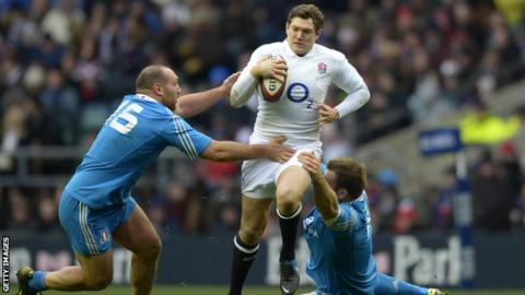 England full-back Alex Goode