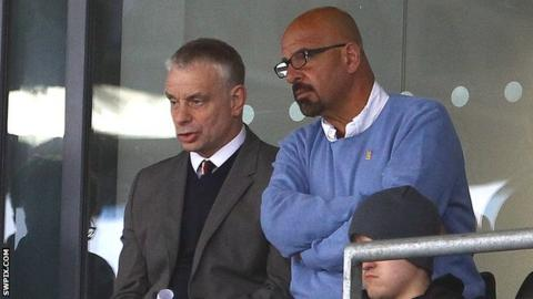 Brian Noble and Dr Marwan Koukash