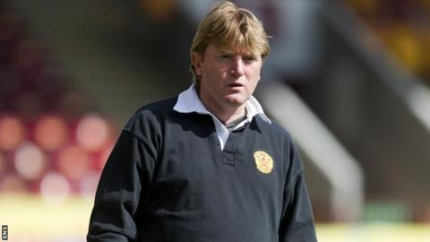 Motherwell manager Stuart McCall