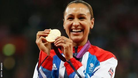 Olympic gold-medallist Jessica Ennis