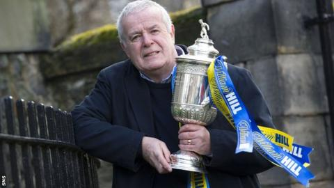 Former Hibs and Celtic favourite Pat Stanton