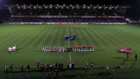 Windsor Park hosts Northern Ireland internationals
