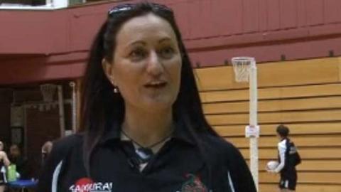 Celtic Dragons coach Melissa Hyndman
