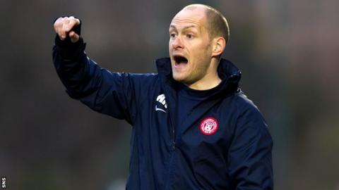 Hamilton player-manager Alex Neil