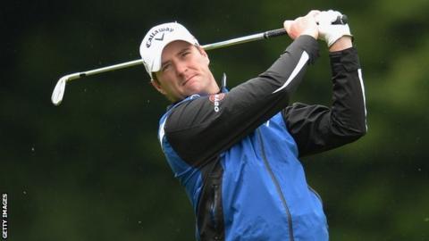 Scottish golfer Marc Warren
