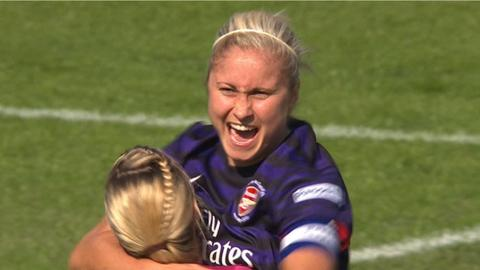 Arsenal's Steph Houghton