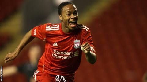 Liverpool and England winger Raheem Sterling
