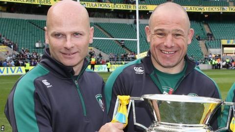 Paul Burke and Richard Cockerill