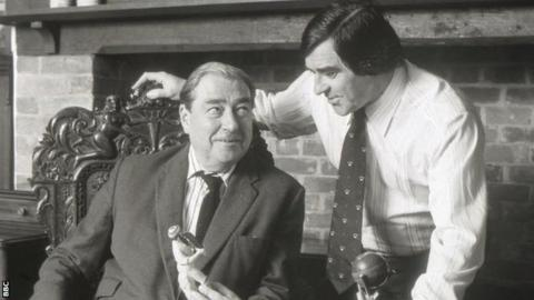 John Arlott and Fred Trueman