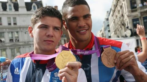 Luke Campbell and Anthony Ogogo