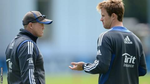 Andy Flower and Nick Compton