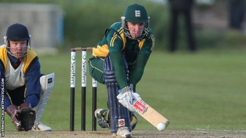 Jeremy Frith hot 54 for Guernsey