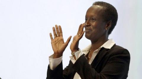 Burundi FA chief Lydia Nsekera