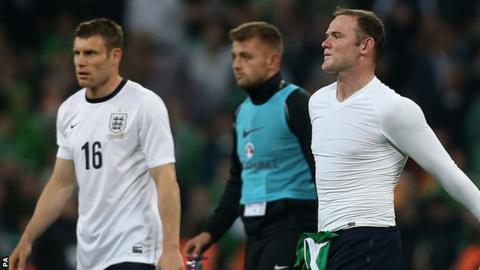James Milner and Wayne Rooney
