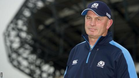 Vern Cotter eyes World Cup push with Scotland