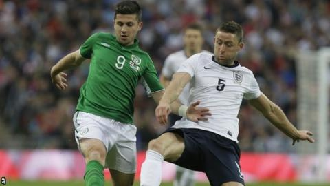 Shane Long and Gary Cahill