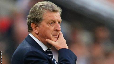 Roy Hodgson England v Republic of Ireland
