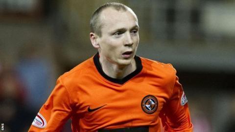 Dundee United midfielder Willo Flood