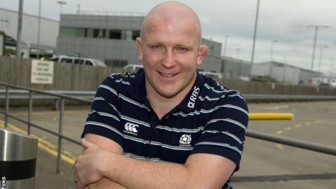 Scotland hooker Scott Lawson