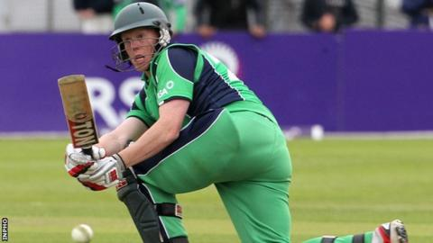 Kevin O'Brien's scored 71 not out