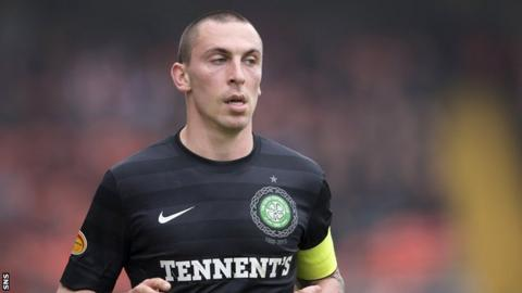 Celtic midfielder Scott Brown