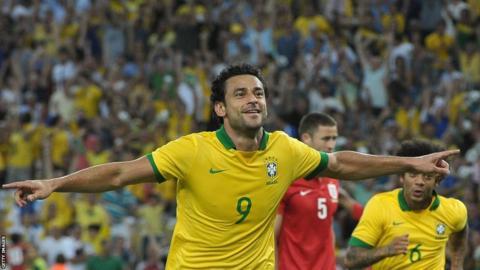 Fred celebrates