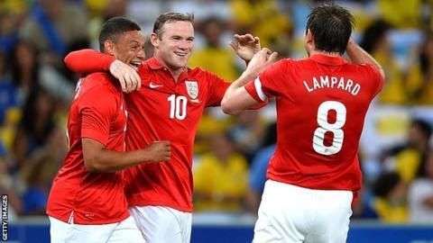 England's Alex Oxlade-Chamberlain