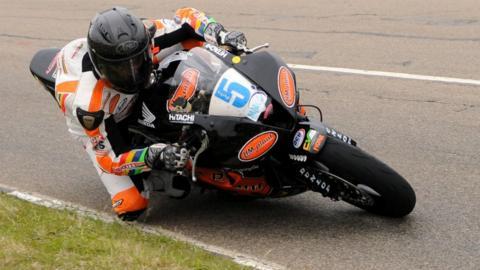 Bruce Anstey (Supersport race 1)