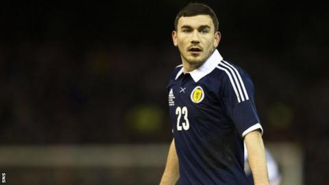Scotland international Robert Snodgrass