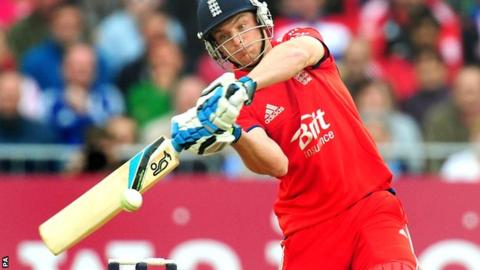Jos Buttler hits out for England