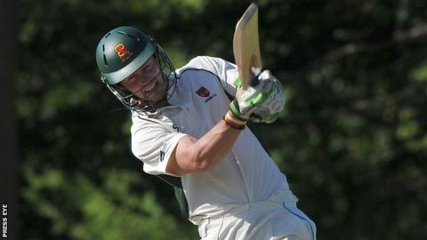 Nathan Waller's innings helped steer the Northern Knights to victory at Eglinton