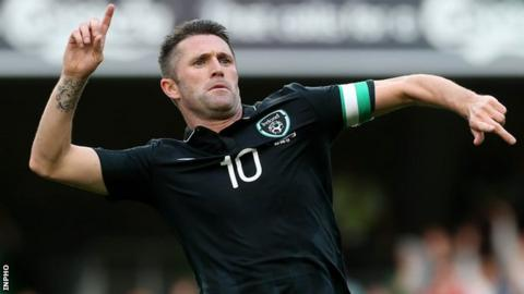 Robbie Keane intends to keep on scoring Republic of Ireland goals