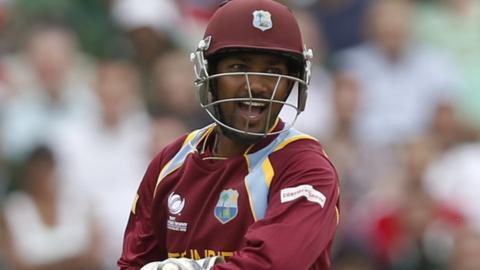 West Indies' Denesh Ramdin